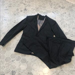 John Varvatos Star USA pinstripe suit